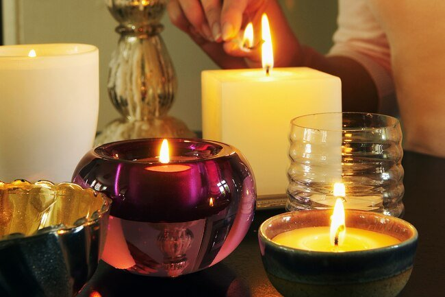 Petroleum based candles release substances into the air that may be irritating to lungs.