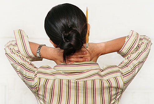 Stress makes your muscles tense up, which can hurt all over your body.