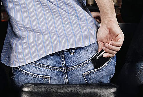 A big wallet sounds nice to some, but it can leave your hip and buttocks in agony.
