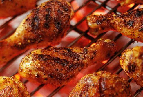 Photo of grilled chicken.