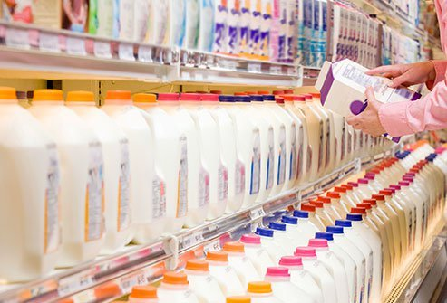 Be choosy when selecting a milk alternative. Some are swimming with added sugar.