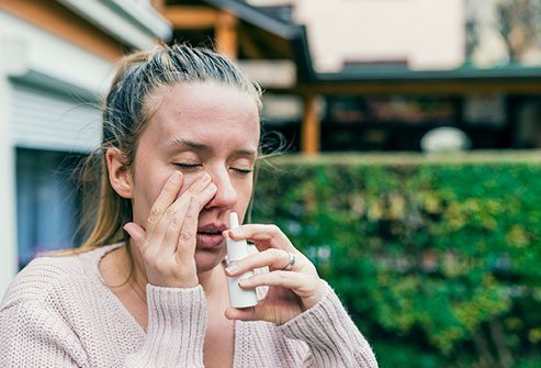 Though it mimics many symptoms of addiction, nasal spray is not addictive itself, properly speaking.