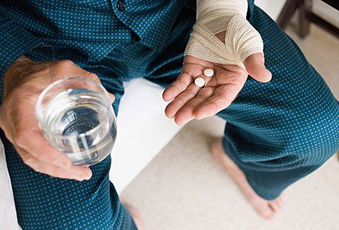 You have a sore back, or a headache, or a cold, and you reach for a pain reliever. Be sure to take the right amount.