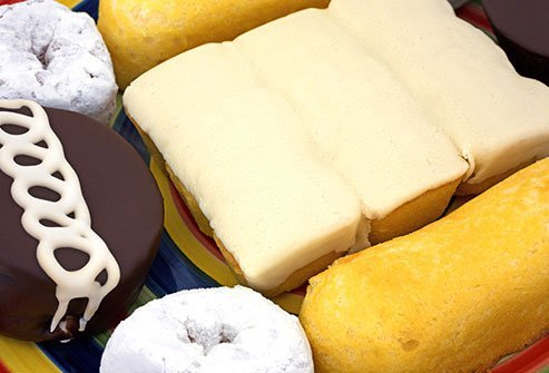 Trans fats are a man-made fat in some packaged foods and baked goods.