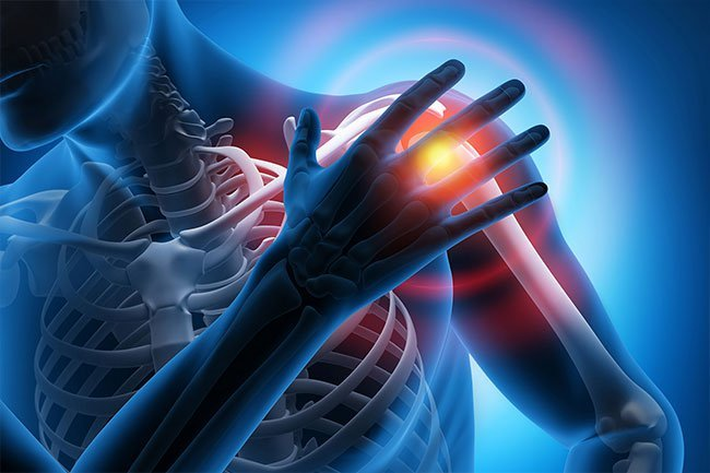 Suddenly stiff and painful joints may be a symptom of rheumatoid arthritis.