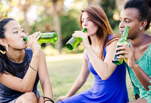 By the age of 18, more than 60% of teens admit to having had at least one drink.