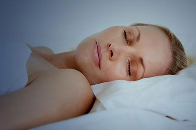 Sleeping on your back and with satin sheets can reduce wrinkles.