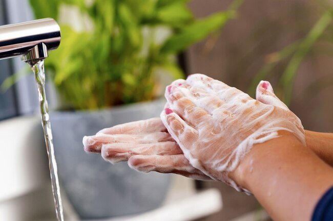 Hand sanitizer also can't get rid of chemicals or heavy metal like soap can.