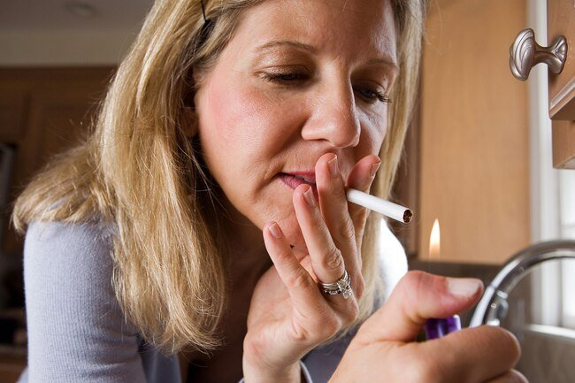 Antihistamines, smoking, and stress can all exacerbate skin dryness.