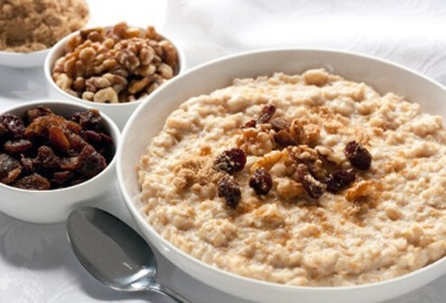 Oats keep a child's brain fed all morning at school.