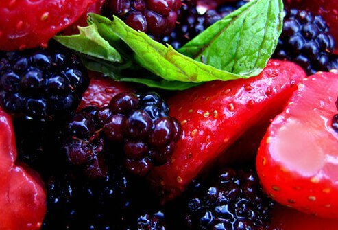 Studies have shown improved memory with the extracts of blueberries and strawberries.