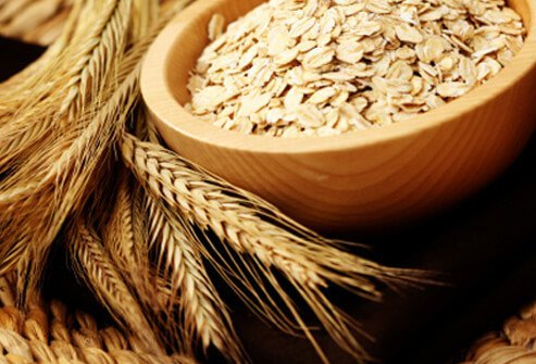 Whole grains are often fortified with vitamins for healthy hair.