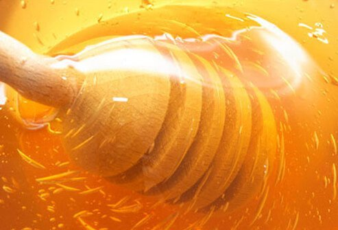 Honey is a prebiotic food that nourishes good bacteria.