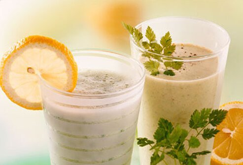 Kefir is a fermented food that is rich in probiotics.