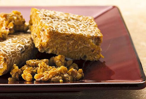 Tempeh is a probiotic food that confers many health benefits.
