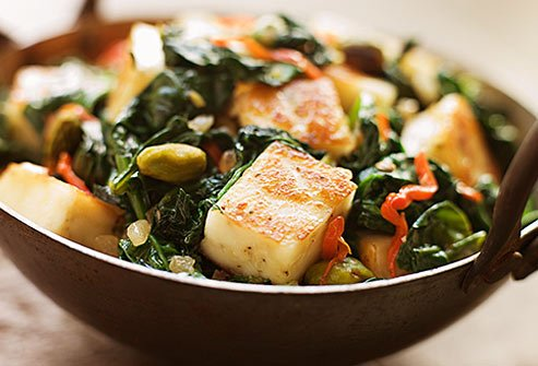 If you don't eat meat, you can still get your iron. Tofu is a good choice.