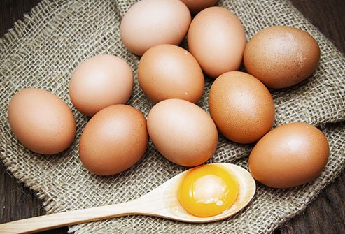 Scrambled, boiled, or sunny-side up, whichever way you cook them, you'll get a healthy dose of iron.