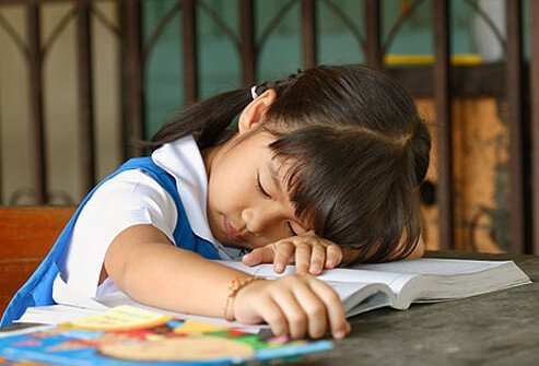 Is your child nodding off at school?