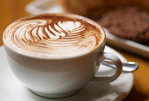 Cappuccino With Cookies.