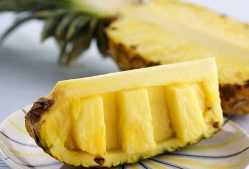 Slice of Pineapple.