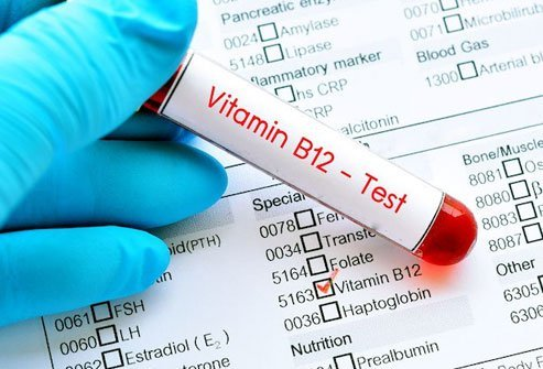 People absorb less B12 as they age.