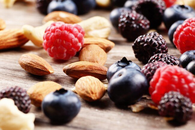 Resveratrol is found in berries an it is anti-inflammatory.