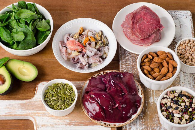 Zinc is a micronutrient that helps fight inflammation.