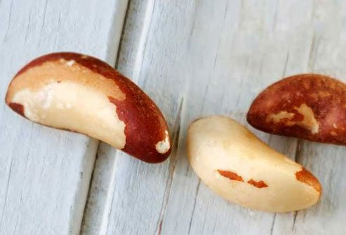 Eat 1 to 2 Brazil nuts per day to get your fill of selenium.