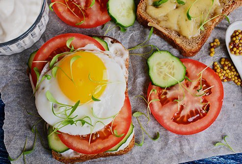 Eating breakfast is important to keep your energy levels up and increase focus.