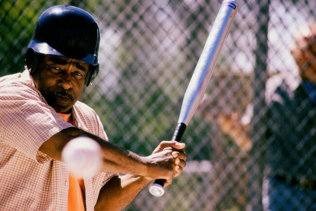 Hitting balls in a batting cage counts as exercise.