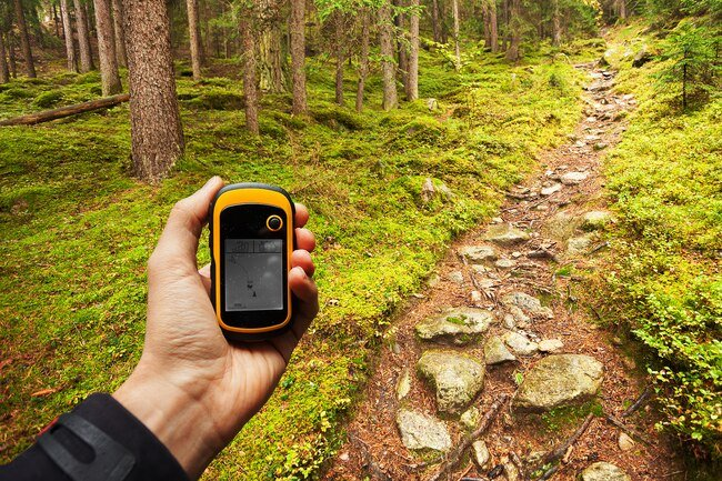 Walking and hiking while geocaching counts as exercise.