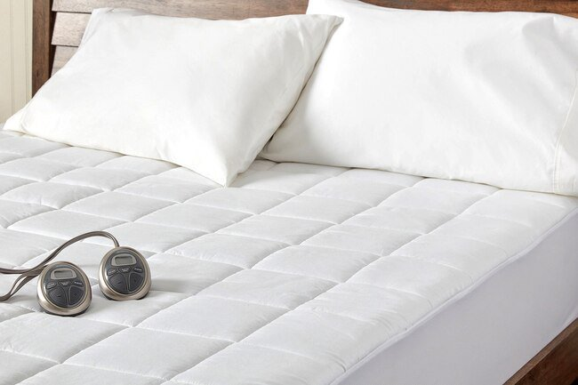 A heated mattress pad may keep you warmer at night than an electric blanket.