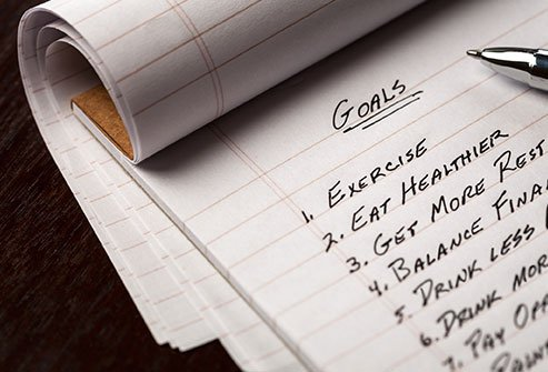 Set reasonable goals to lose weight more effectively.