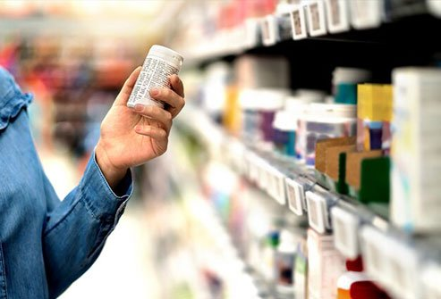 Some popular over-the-counter allergy and sleep meds like Benadryl and Advil PM have diphenhydramine.