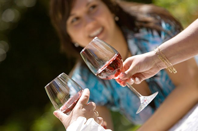 Red wine has polyphenols, which are linked to better heart and brain health.