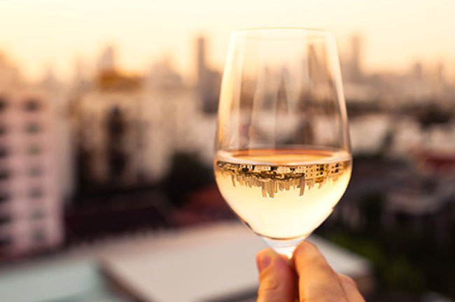 A 5-ounce glass of wine is about the same as 12 ounces of beer or 1.5 ounces of liquor.