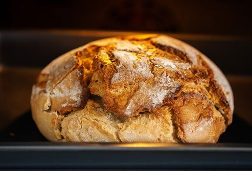 Fresh bread tastes best, but it may quickly become stale and moldy.