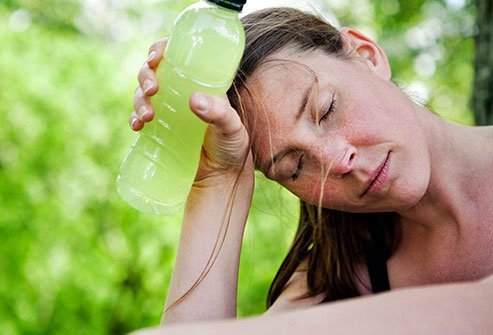 When it is very hot, you can sweat away too much fluid, along with essential minerals like sodium and potassium.