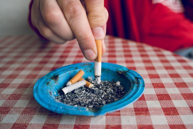 Smoking can injure or kill the cells that help your brain classify smells and taste.