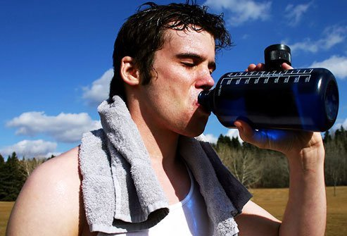 Dehydration can happen if you do not drink enough or you lose too much fluid.