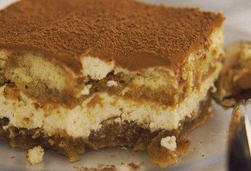 Many homemade desserts, including mousse, meringue, and tiramisu, also contain raw eggs.