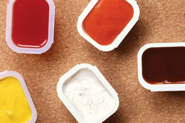 The first ingredient listed for almost any sauce served at a fast-food restaurant is sugar.
