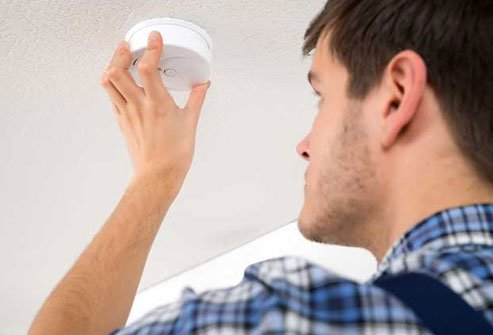 Check the manufacturer's date on your smoke alarm.