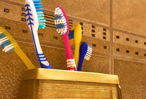 Twice a day scrubbing sessions really do in your toothbrush's bristles over time.