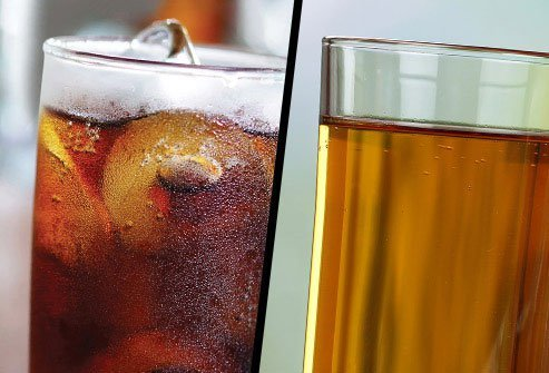 Soft Drink or Bottled Apple Juice?