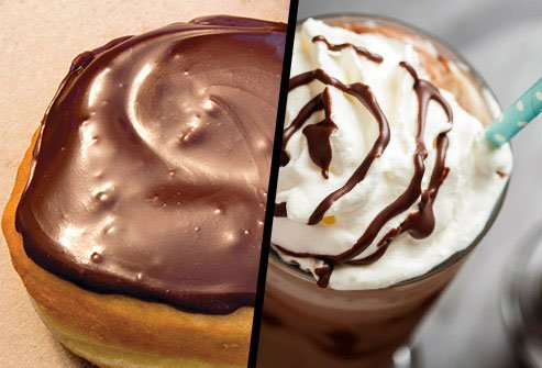 Boston Cream Doughnut or Mocha Frappuccino?