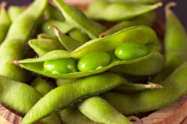 Beans are a great source of iron, which help move oxygen around your body.