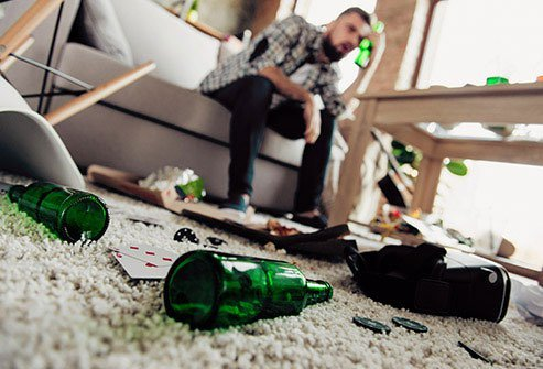 About five to eight drinks for men and three to five for women is enough to cause a hangover headache.
