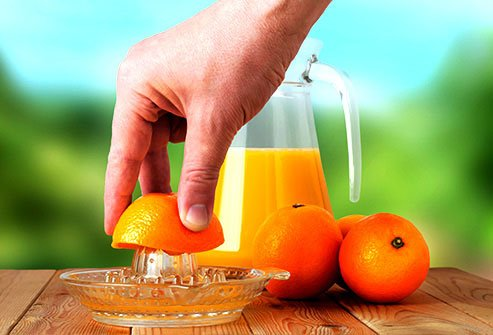Oranges are high in potassium, but be mindful of the sugar content.