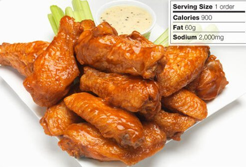Photo of chicken wings